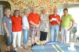 The Peachland Lions donated $4,000