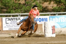 Peachland riders show true grit at weekend rodeo