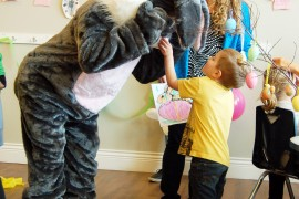 The Easter Bunny is hopping into Peachland this Friday, April 3
