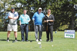Peachland Lions Club's 2015 charity golf event a roaring success