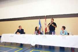 Candidates differ on the details at Peachland forum on September 23