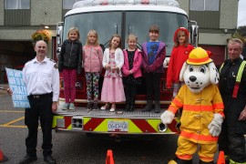 Fire Chief for a Day promotes fire safety among local youngsters