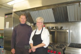 Hewer says kitchen makeover will bring positive changes