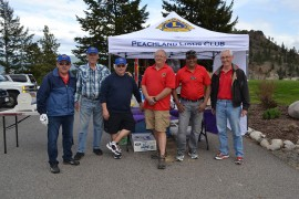 Golfers tee off in support of Peachland Lions Club