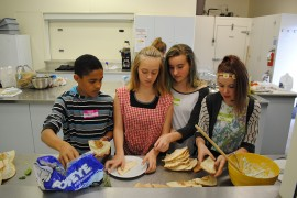 Intergenerational cooking program feeds the stomach as well as the soul