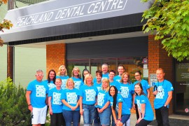 Local dentists brighten smiles by donating dental work