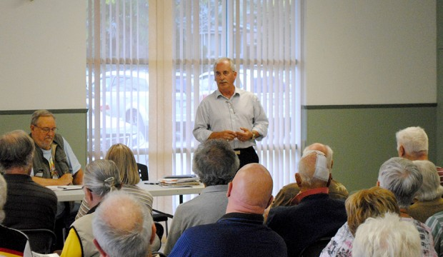 District advisor keynotes Highway 97 Task Force Society's AGM