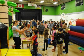 Rain can't stop Peachland Elementary School fair