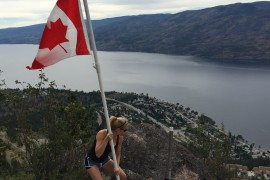 On top of old Pincushion: a Canada Day story