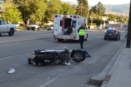Motorcyclists hospitalized in apparent intentional hit-and-run