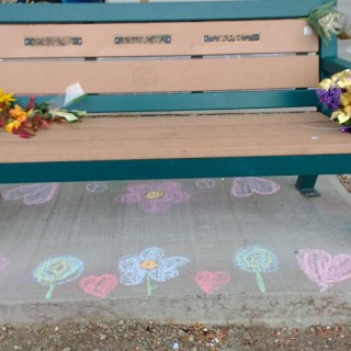 Ashlee's bench flower debate returning to council