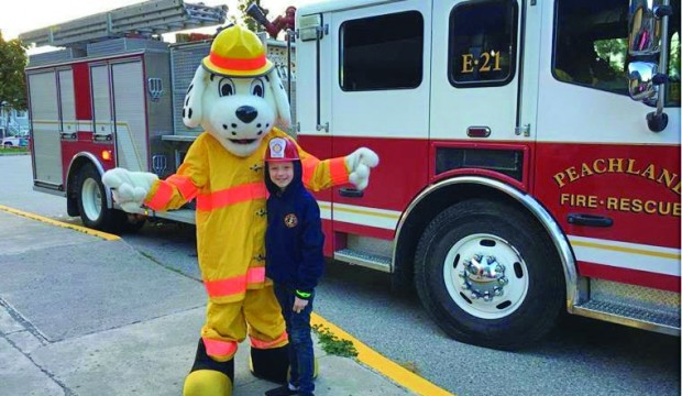 Fire Prevention Week in Peachland