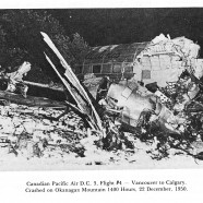 Sixty-six years ago today: commercial airline crashes on Okanagan Mountain
