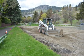 Upgrades underway at Lambly Park