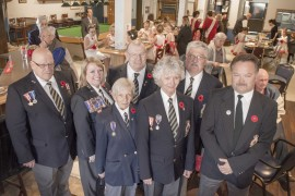 Military milestone commemorated at the Peachland Legion
