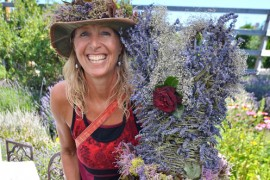 Spring Fling blossoming at Peachland Art Gallery