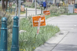 Letter: NDP signs look gross