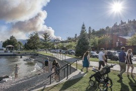 Finlay Creek fire