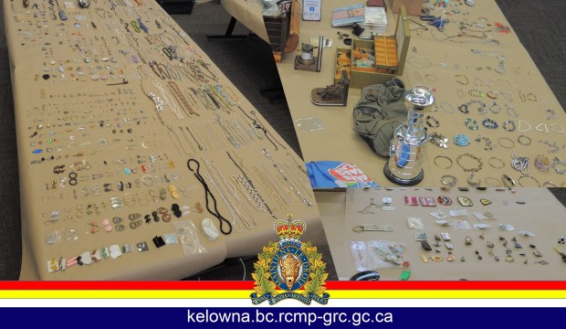 Cops looking for rightful owners of trinkets
