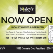 Bosley's opens shop to become Peachland's pet supplier